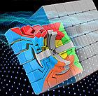 Профессиональный Кубик Рубика 6 на 6 Moyu MeiLong в цветном пластике, фото 6