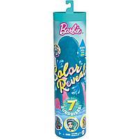 """Barbie """"Цветное перевоплощение"""" Кукла-сюрприз Барби Русалка, Color Reveal 4 серия"""