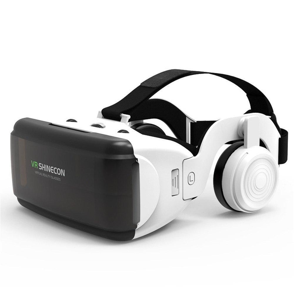 Очки шлем виртуальной реальности с наушниками VR SHINECON G06E
