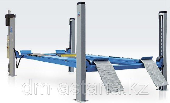 Подъемник четырехстоечный Ravaglioli RAV4502L для сход-развала (5 тонн)