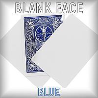 Bicycle Blank face (пустое лицо) - синяя рубашка