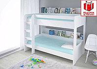 Детская двухъярусная кровать Polini Simple 5000, фото 1