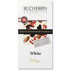 Шоколад белый с миндалем, клюквой и клубникой Bucheron, 100 гр