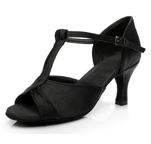 Туфли для бальных танцев (взрослые). Цвет: чёрный. Размеры: 36-40