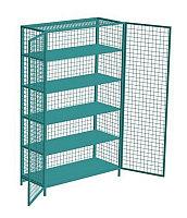 Шкаф для спорт инвентаря 140х220х60