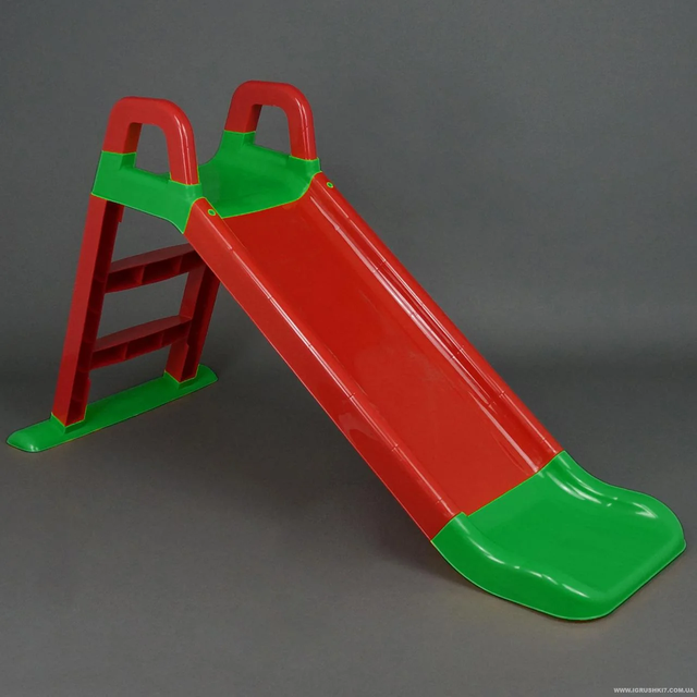 Горка детская пластиковая Doloni Веселый спуск 0140