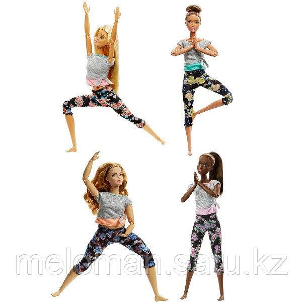 Barbie: Йога: Кукла шарнирная Barbie Йога, в ассортименте - фото 2