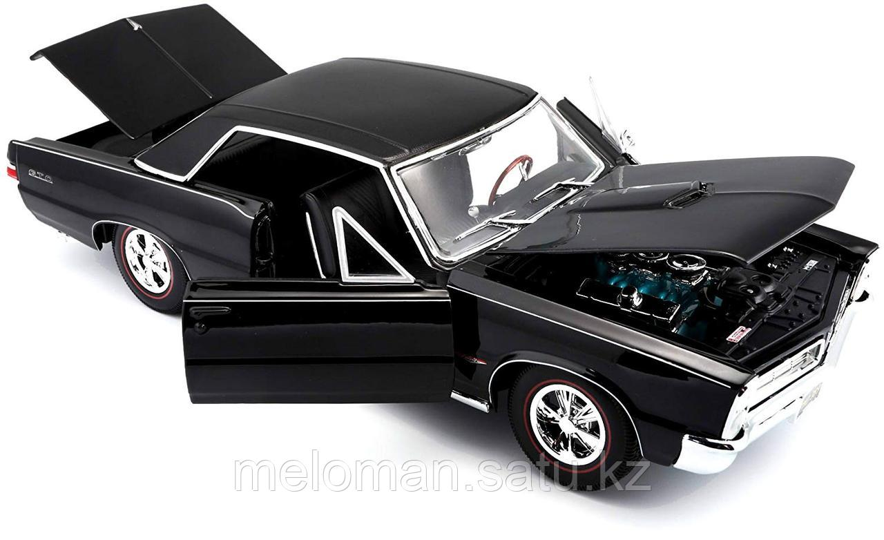 Maisto: 1:18 Pontiac GTO 1965 - фото 3