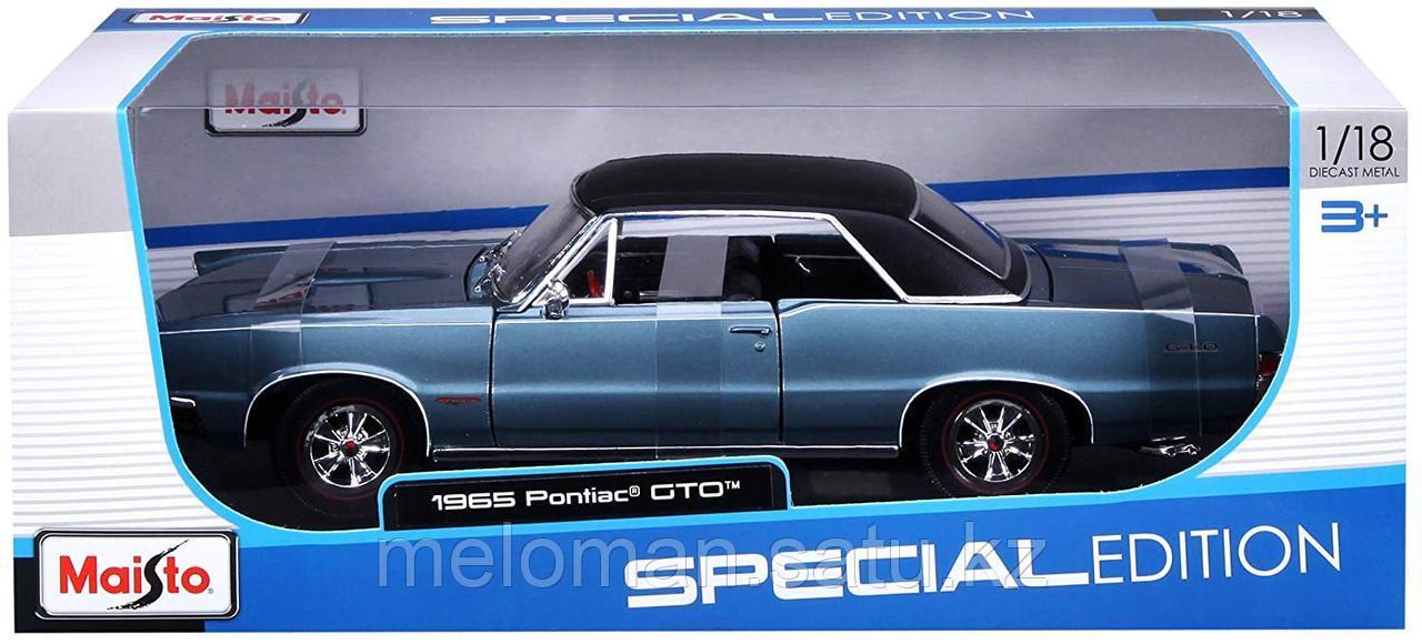 Maisto: 1:18 Pontiac GTO 1965 - фото 6