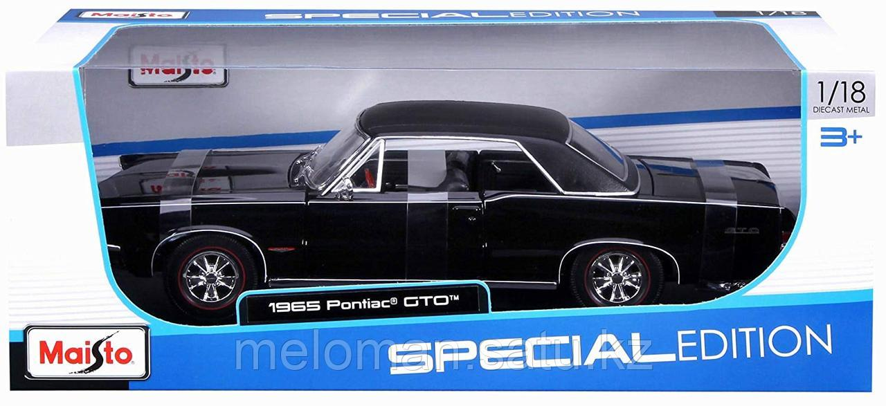 Maisto: 1:18 Pontiac GTO 1965 - фото 7