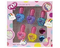 POP:  Игровой набор детской декоративной косметики для лица и ногтей в асс-те