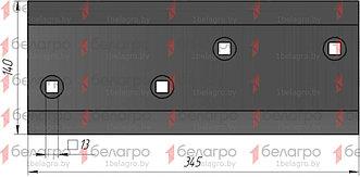 РЗЗ.ПЛЖ.51.200-06 Боковина правая, широкая (сормайт)