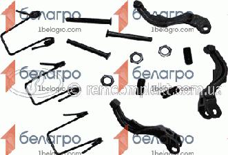 Ремкомплект корзины сцепления МТЗ Д-240 (малый) (РК2551)