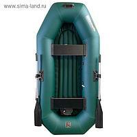 Лодка «Мурена» 250У НД надувное дно, цвет олива