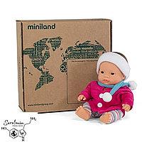 "Кукла карапуз девочка ""Азиатская раса"" 21см Miniland Испания"