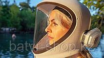 Скоро мы заменим медицинские маски на защитные шлемы
