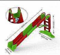 Горка детская Мега Doloni 01450/3 длинна спуска 4 метра, фото 1