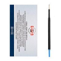 Стержень шариковый Koh-i-noor 4443E, 0,6 мм, 107 мм, синий (комплект из 40 шт.)