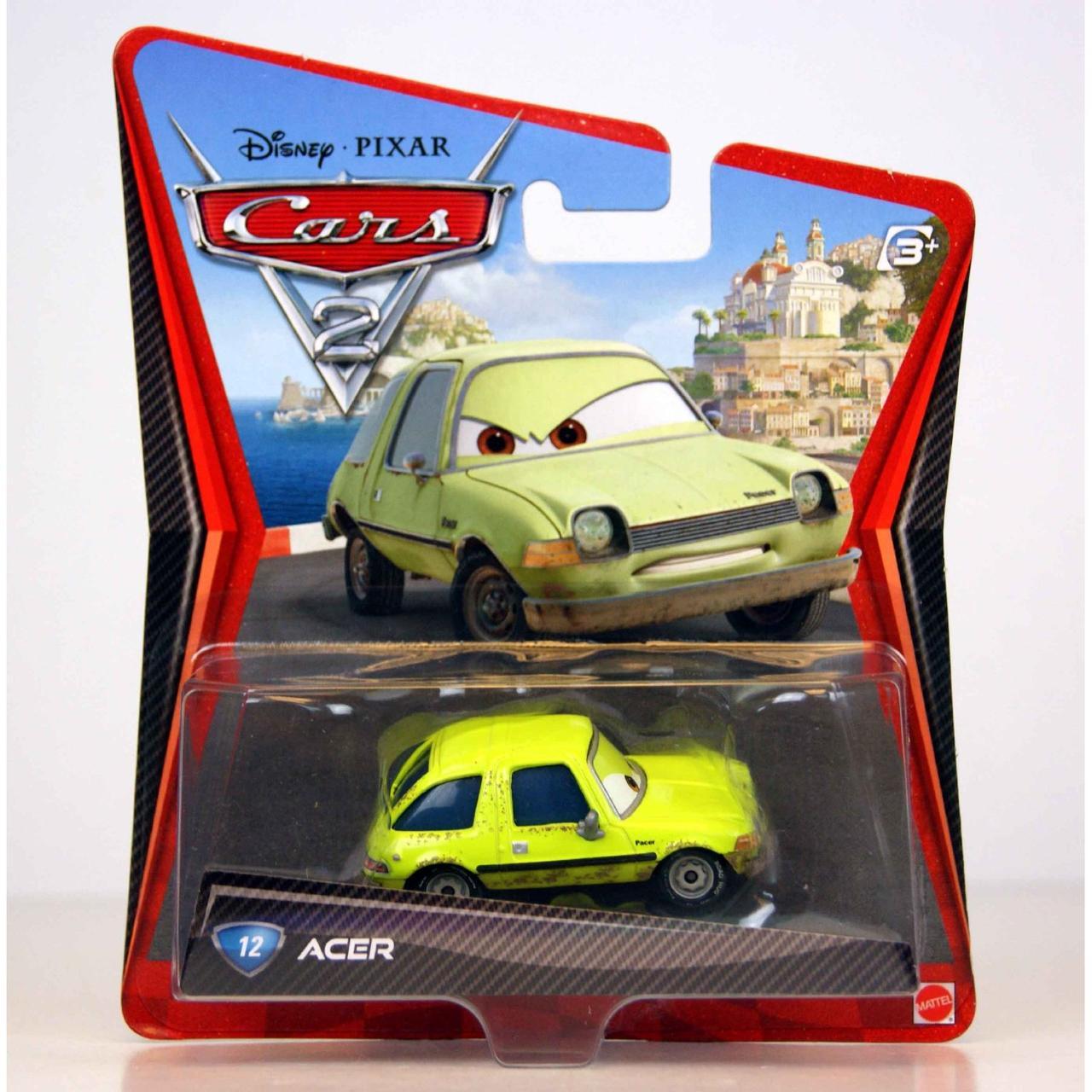 Cars / Тачки Металлическая модель Эйсер