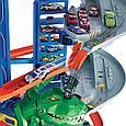 """Hot Wheels Набор """"Город: Невообразимый гараж с Роботом-Тираннозавром"""", Хот Вилс, фото 5"""