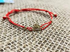 Золотой браслет ( фенечка)