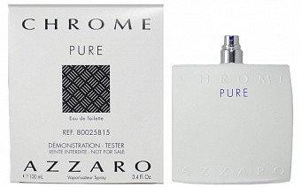 Azzaro Chrome Pure 100 ml. - Туалетная вода - Мужской - ( TESTER ), фото 2