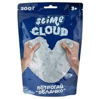 Слайм Slime Cloud-slime, белый, с ароматом пломбира, 200г, дой-пак
