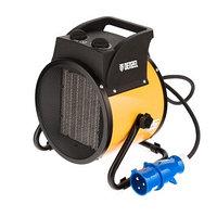 Тепловая пушка, керамический нагреватель (тепловентилятор) DHC 5-400, 220 В, 0,04/3/5 кВт Denzel