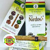 Нирдош Сигареты (Nirdosh MAANS) сигареты без никотина и табака с травяным фильтром, 10 шт
