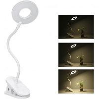 Портативная настольная лампа yeelight charging clamping lamp j1, фото 1