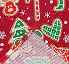 Новогоднее полотенце, вафельное, фото 2