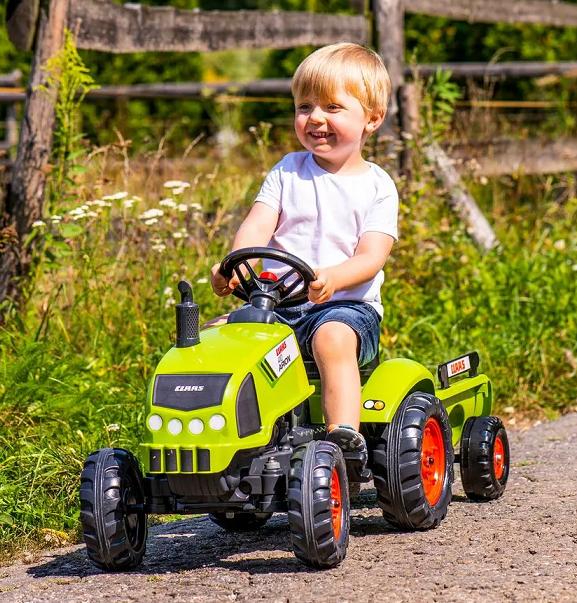 Детские педальные тракторы