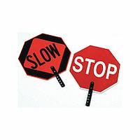 Paddle Sign, Stop/Slow / Ручной знак СТОП/Замедлитесь