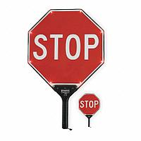 Paddle Sign, Stop/Slow