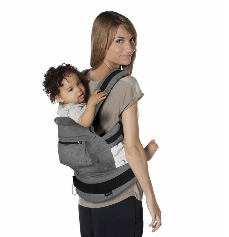 Рюкзак-переноска CBX My.Go Comfy Grey