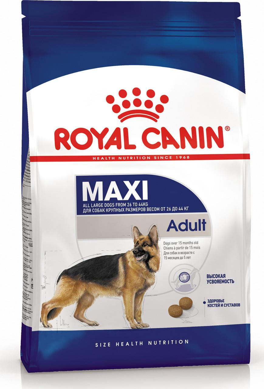 Сухой корм Royal Canin Maxi Adult для собак крупных собак