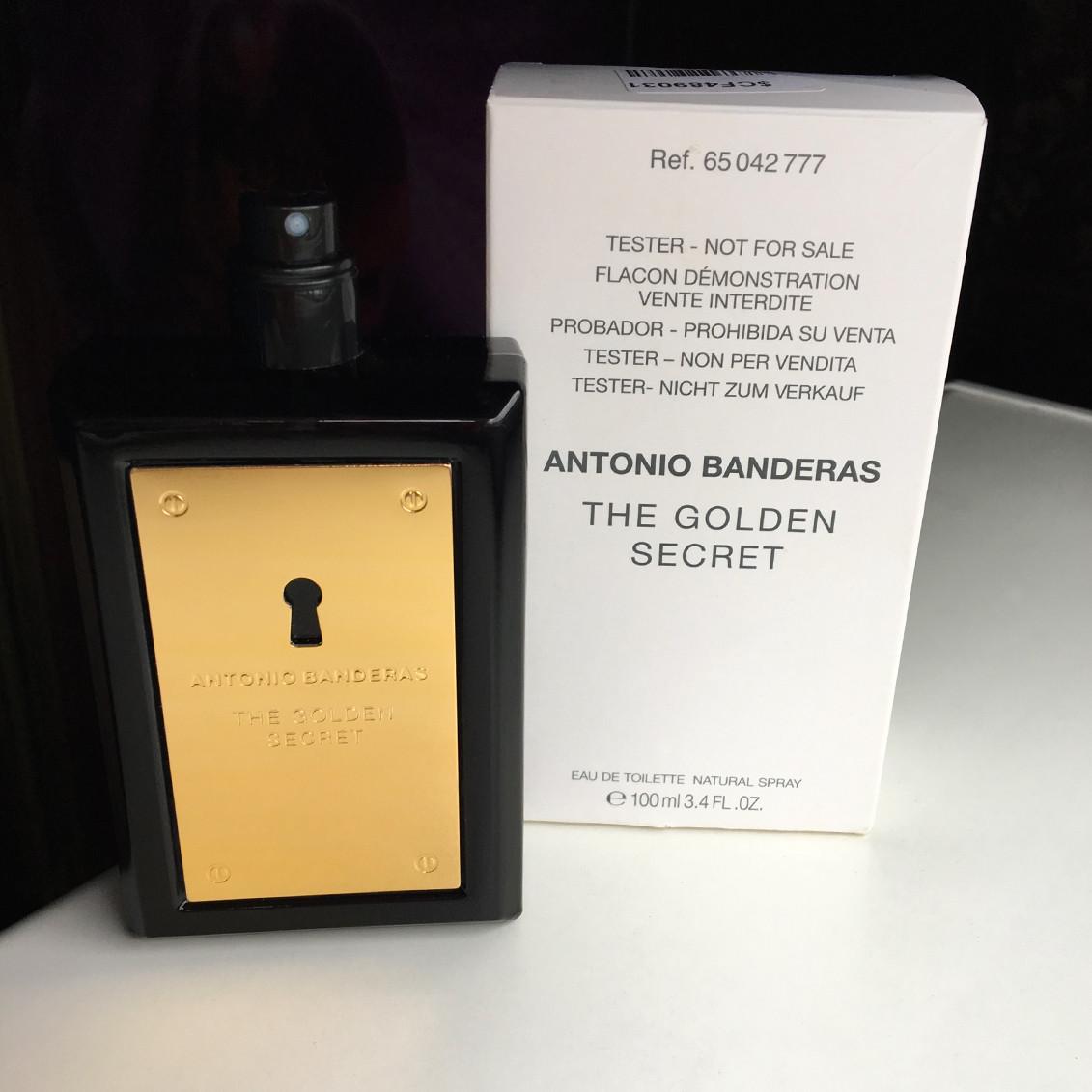 Antonio Banderas The Golden Secret 100 ml. - Туалетная вода - Мужской - ( TESTER )
