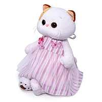 Котик Ли-ли в платье с бабочками 27-053