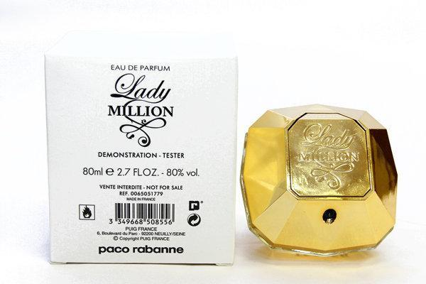 Paco Rabanne Lady Million 80 ml. - Туалетная вода - Женский - ( TESTER ), фото 2