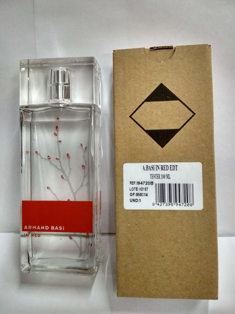 Armand Basi In Red 100 ml. - Туалетная вода - Женский - ( TESTER )
