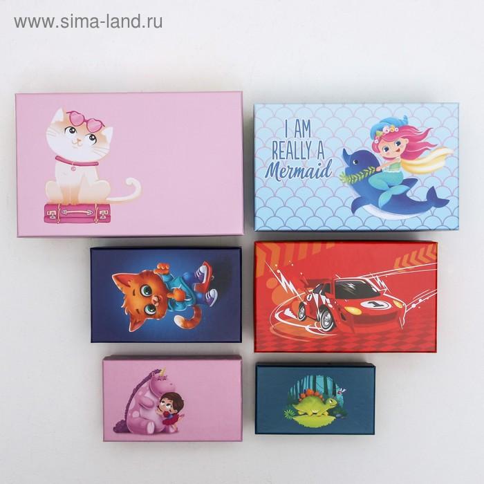 Набор подарочных коробок 10 в 1 «Детство», 12 × 7 × 4 - 32.5 × 20 × 12.5 см - фото 3