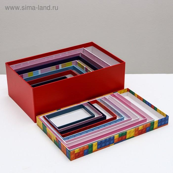 Набор подарочных коробок 10 в 1 «Детство», 12 × 7 × 4 - 32.5 × 20 × 12.5 см - фото 8