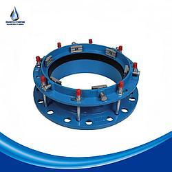 Фланец фиксирующий для ПЭ и ПВХ труб DN 125/160 PN10-16