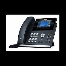 Yealink SIP-T46U SIP-телефон (цветной экран, 2 порта USB, 16 аккаунтов, BLF,  PoE, GigE) без БП