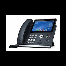 Yealink SIP-T48U SIP-телефон  (цветной сенсорный экран, 2 порта USB, 16 аккаунтов, BLF,  PoE, GigE) без БП