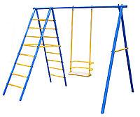Детский комплекс, качеля, гимнастическая лестница