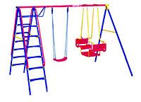 Детский комплекс, качели, качели лодочка, лестница гимнастическая