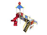 Игровой комплекс Romana, горка, лестница, счёты, игровая башня