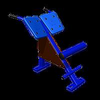 Тренажер для спины наклонный Romana, универсальный