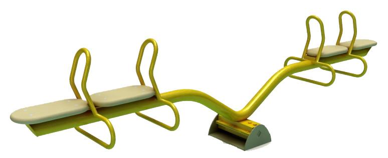 Балансир детский, двойной желтый